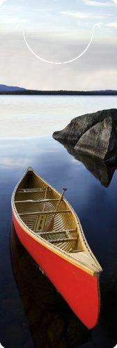 3d-lesezeichen-kanu-im-seboies-lake