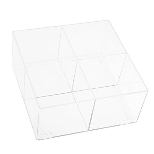 MagiDeal Acrylic Makeup Case Cosmetic Organizer Drawer Storage Jewelry Cabinet Box