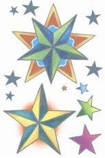 Tattoo Nautical Stars (VINTAGE TATTOOS - Nautical Stars)