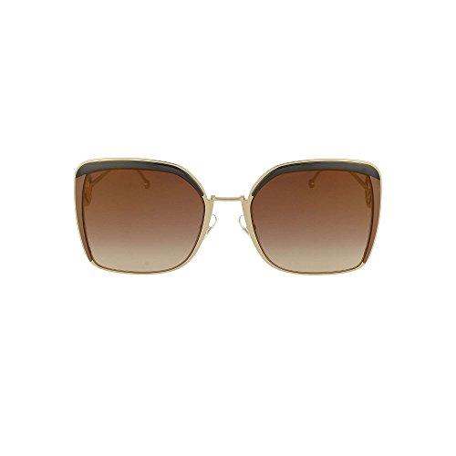 Occhiali da sole fendi f is fendi ff 0294/s brown/brown shaded donna