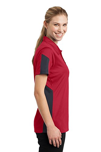 Sport-Tek -  Polo  - Donna Multicolore - True Red/ Grey