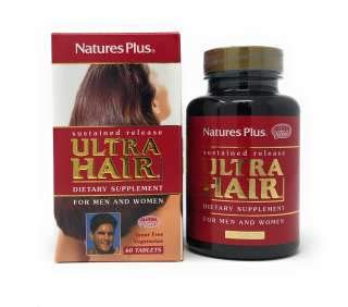 Release 60 Tabletten (Natures Plus ULTRA HAIR SUSTAINED RELEASE TABLETS 60)