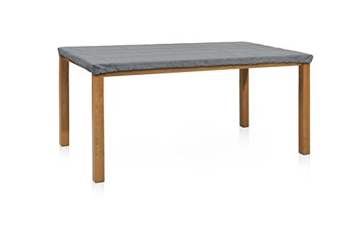 Eigbrecht 146916 Wood Cover Abdeckhaube Schutzhülle für Tischplatten rechteckig grau 160x90cm