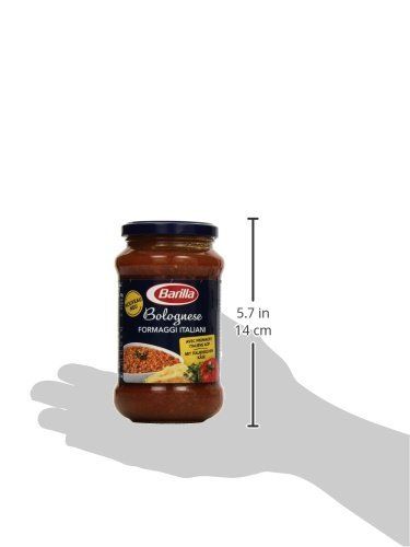 Barilla Pastasauce Bolognese Formaggi Italiani – Bolognese-Sauce 1 Glas (1x400g) - 6