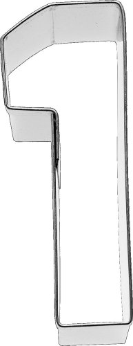 Birkmann Ausstechform Zahl 1, 6 cm, Edelstahl