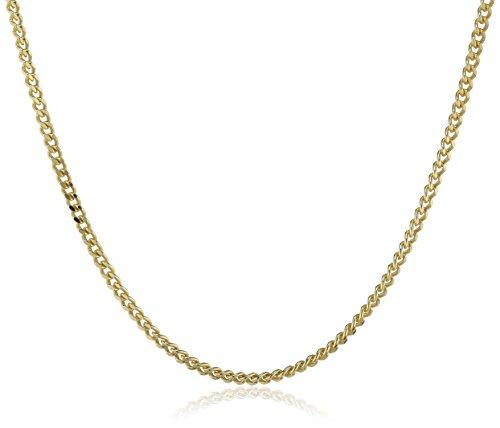 Klassische Bluse Findet (ZEEme 064350059-45ZWÖ Collierkette diamantiert Federring 333 Gelbgold 45cm Zwischenöse bei 42cm)