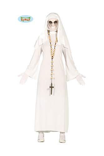 Guirca Costume da Suora Fantasma, Colore Bianco, Taglia Unica 80939