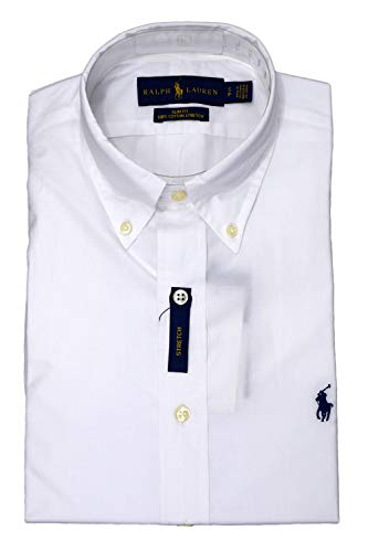 Ralph lauren 710705269 camicie uomo white s