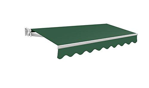 Toldo Primrose Manual – Kensington DIY Toldo de Terraza tipo Carpa con Baldaquín completo, Accesorios y Manivela