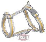 Trixie Edition 40 H-Geschirr für Hunde, L-XL: 75-100 cm/25 mm, grau/orange
