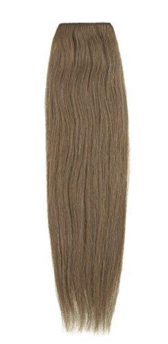 American Dream Extensions capillaires 100% cheveux humains 40,6 cm de qualité supérieure Couleur 12 – Brun Doré