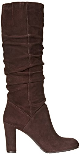 Nine West Shiryl Daim Botte Dk Brown