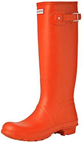Hunter WOMENS ORG TALL, Damen Gummistiefel, Orange (Orange Ror), 42 EU