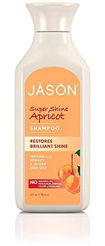Jason Natural Products Shampoing à l'Abricot , enrichi en Kératine , 473 ml