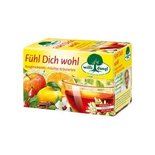 Willi Dungl Fühl Dich Wohl, ausgleichender Früchte-Kräutertee - 20Beutel