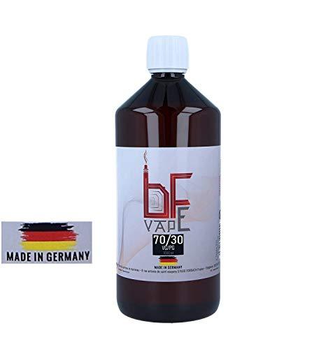 BF-VAPE Tedesca Base E-Liquid - 1000 ml Senza Liquido di Nicotina VG/PG (70/30) - (1 x 1000 ml)