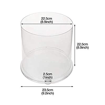 Uotyle Kreatives transparentes Aquarium für den Schreibtisch, als Vase und Betta mit Abflussloch für Zuhause, Büro oder Hochzeit