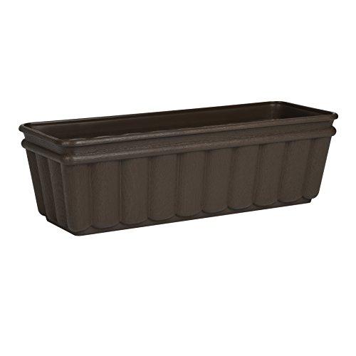 Emsa 959502400 Balcone - Jardinera (50 cm), color marrón