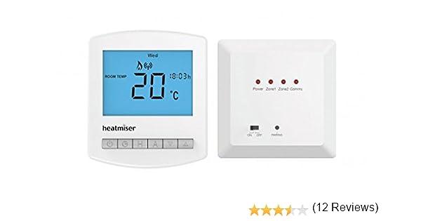Nouveau Heatmiser sans fil compact Thermostat