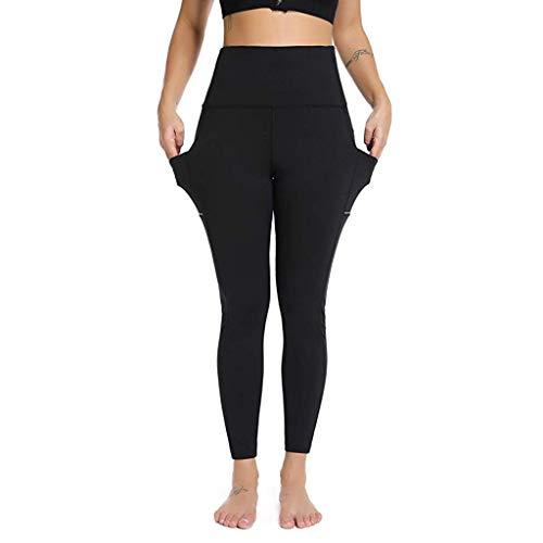 AMhomely Damen Stretchhose/NEU / 2019 Yoga-Hose Tasche/beiläufige beiläufige elastische Hosen Längenhose Jogginghose Hosen