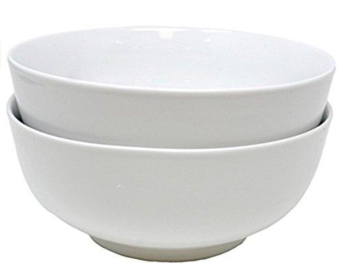 Set von 2Bright Weiß Porzellan PHO Schalen 7,5 weiß Coupe Cereal Bowl
