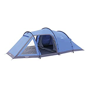 vango waterproof venture 450 unisex outdoor tunnel tent available in blue - 4 persons