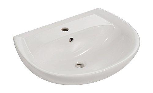Renova Nr.1 Waschtisch | Waschbecken | 65 cm | Weiß | 292110