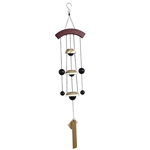 B Blesiya Klangspiel Glücksbringer Glocke zum Aufhängen, für Innen/Außen Deko - Kugel
