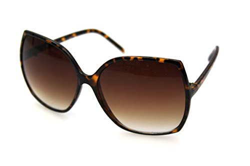 By Neki Damen Oversized Designer-Sonnenbrille Big Bug Eye Celebrity UK, Schwarz Gr. Einheitsgröße, türkis