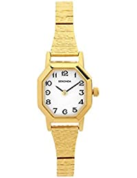 Sekonda Women's Quartz Watch with Mother of Pearl Dial Analogue Display and Gold Stainless Steel Bracelet 4265.27