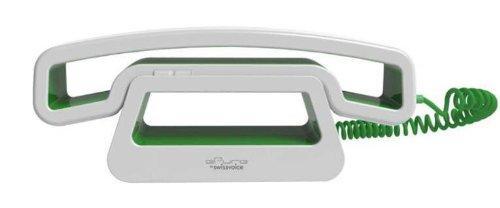 Swissvoice CH01 schnurgebundenes ePure-Handteil an Mobiltelefon, PC, Tablet grün
