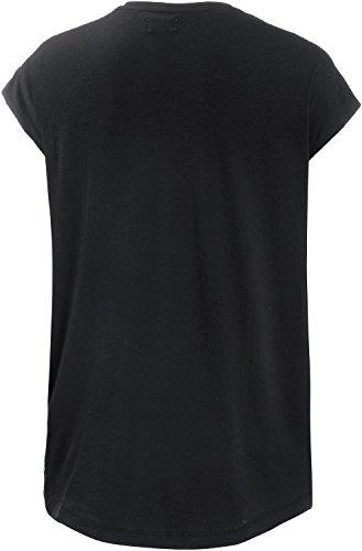 Forvert Sabal Femme T-shirt Noir usé