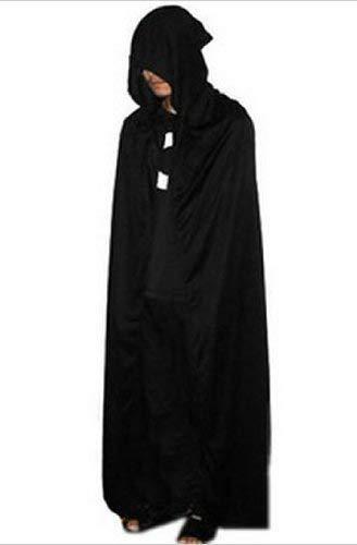DOXMAL Vampir Halloween Kostüm Cape Erwachsener Unisex Halloween Kostüm Cape für Männer und Frauen (Darth Maul Kostüm Männer)