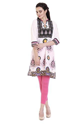 Goldstroms Minelli Women's Cotton Rayon Fabric Kurti (X-Large)