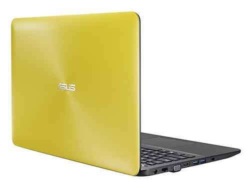 Asus A555la-xx2565t 15.6-inch Laptop (core I3-5005u/4gb/1tb/windows 10/intel Hd Graphics), Yellow