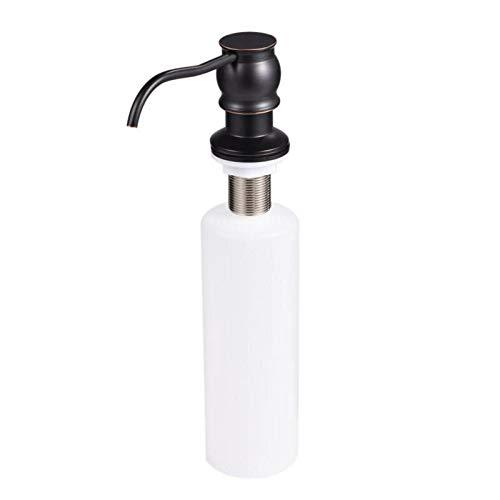 Portable Soap Dispensers - 350ml Soap Liquid Dispenser Bathroom Water Sink Countertop Easy To Press Lotion Pump - Travel Soap Pump Mini Pump Liquid Countertop Soap Pump Dispenser Bath Di