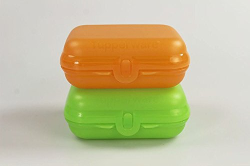 tupperware-to-go-twin-hellgrun-orange-gr2-brotdose-box-behalter