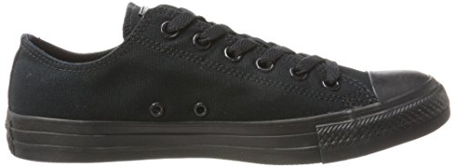 Converse Chuck Taylor All Star, Unisex – Erwachsene Sneaker, Schwarz (Black Mono), Gr.43 EU - 6