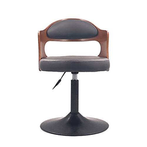 Barhocker Hoher Hocker Chair Lift Massivholz Kuhfell Sessel