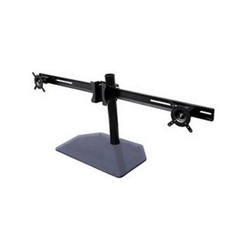 Btech BT7333 AViBALL supporto da tavolo per schermo piatto con coperchio in vetro Base per fino a 55,88 cm schermi - Nero