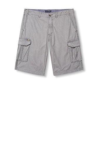 ESPRIT Herren Shorts 037ee2c009-Cargo Grau (Gunmetal 015)
