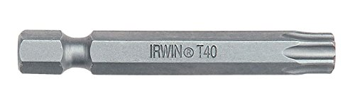 IRWIN Power Screwdriver Bits (5) Torx TX40 50mm -