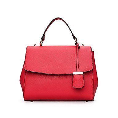 La donna pu outdoor casual Tote,rosso Blue