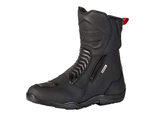 IXS PACEGO ST - Stivali da trekking in pelle, impermeabili, colore: nero
