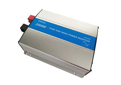 EPEVER® REINER SINUS Spannungswandler IP Serie Inverter Wechselrichter 24V bis 48V DC auf 230V AC Stromwandler (IP2000-22, 2000W 24V/230)