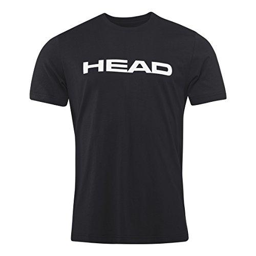 Head Uomo Ivan T Shirt Nero Uomo 811528bkwhxxl Nero/Bianco 2X Large