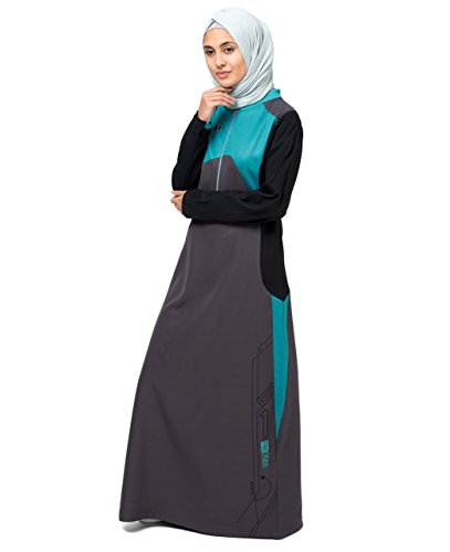 Tri Coloured Abaya Extra Slim 58