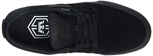 Supra Stacks Vulc Ii, Sneakers Basses mixte adulte Noir (BLACK / BLACK - BLACK BBB)