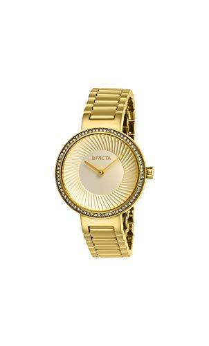 Invicta Women's Specialty Gold-Tone Steel Bracelet & Case Quartz Watch 27001