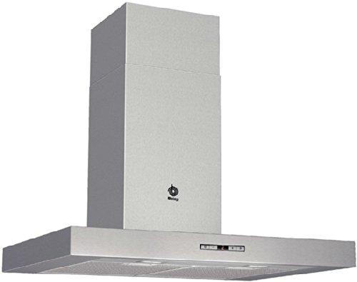 Balay 3BC876XM – Campana (Montado en pared, Canalizado/Recirculación, A+, Acero inoxidable, Botones, Aluminio)